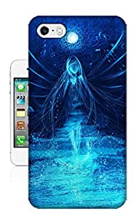 Xiu Fan Customized Blue Light Angel Case for iphone 5-5s