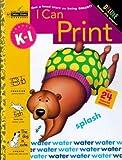 I Can Print, Grades K - 1, Golden Books Staff, 030703674X