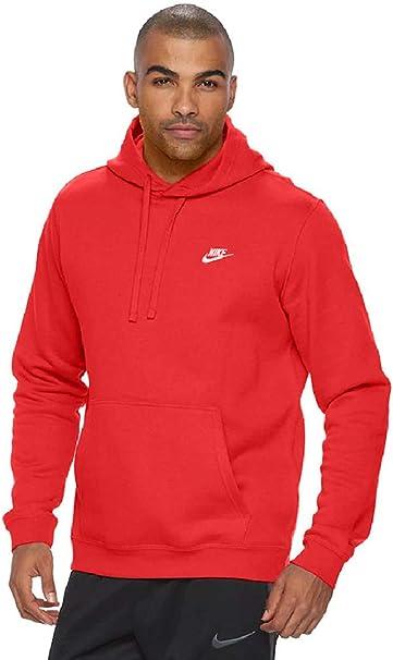felpa nike uomo club hoodie