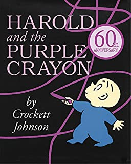 Book Cover: Harold and the Purple Crayon