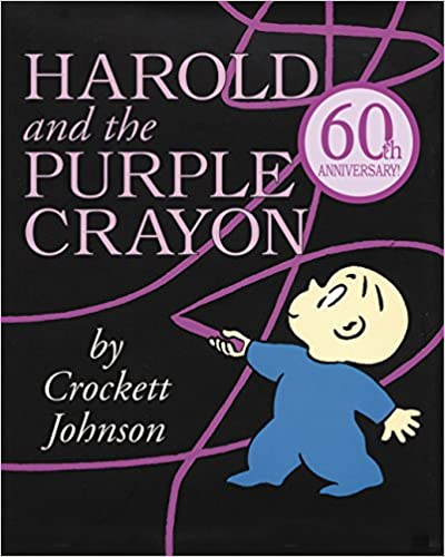 Harold and the Purple Crayon – by Crockett Johnson