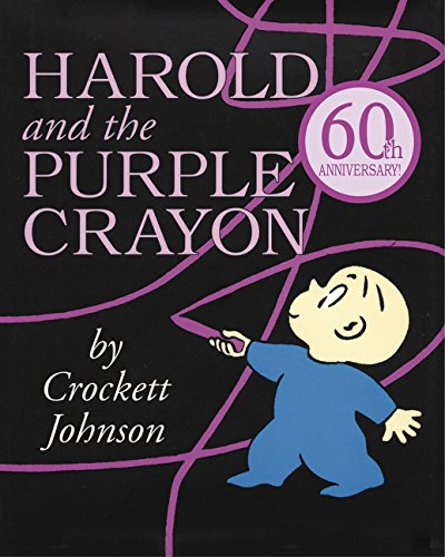Children's Books About Countries of the World featured by top US travel blogger, Marcie in Mommyland: Harold and the Purple Crayon