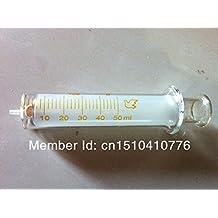 Generic 50ml Glass Syringe Injector Glass Sampler Lab Glassware