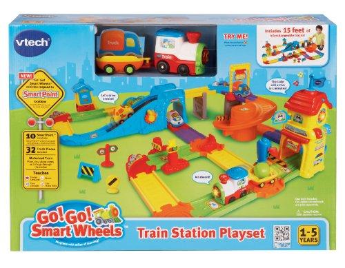 VTech Go! Go! Smart Wheels Train Station Playset