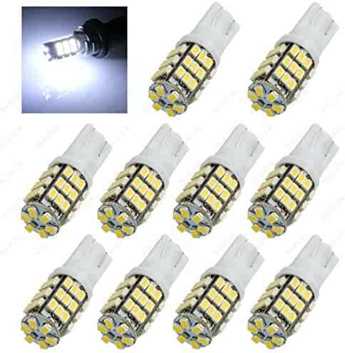 4-Pack Used For Dome Reading and Indicator Light,DC 9-30V Input Red,Super Bright 5730 10-EX Chipsets BAY9S H21W Red LED Bulbs JSVSAL Red, BAY9S