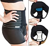 Pelv-Ice Mama Strut Postpartum Support Pelvic Binder with Ice/Heat Therapy, XX-Large