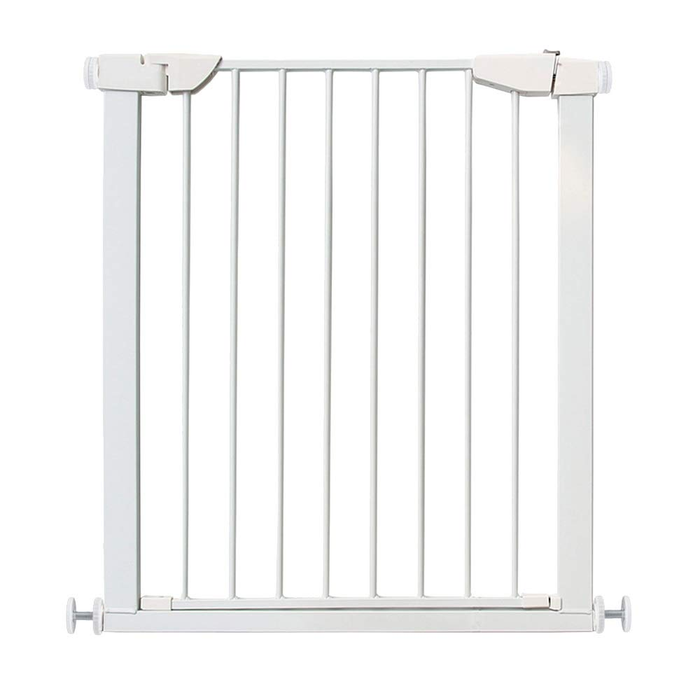 Bed Rails WANGFANG Walk Thru Baby Gate,Safety Gate Metal Expandable Baby Pet Safety Gate Auto-Close with Pressure Mount,72-85cm