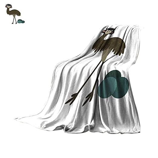 Angoueleven - Manta térmica Ligera de pie con diseño de ...