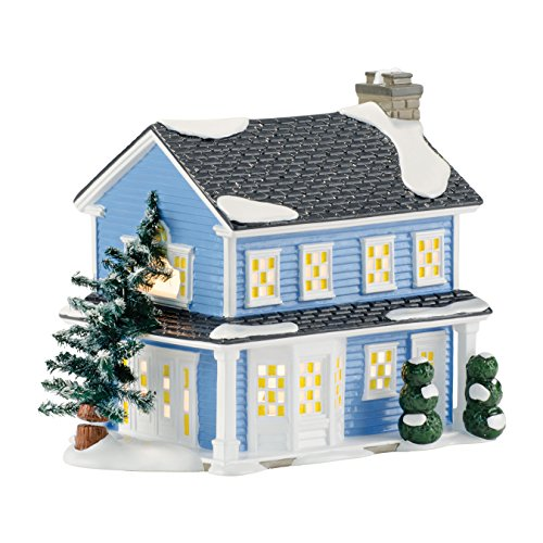 Department 56 National Lampoon's Christmas Vacation Village Todd and Margo's House, 7.05 inch by Department 56