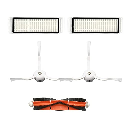 CAOQAO - Accesorios para aspiradora, Cepillo Lateral, 4 Piezas ...