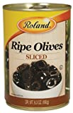 Cheap Roland  Olives, Sliced, 6.3 Ounce (Pack of 12)