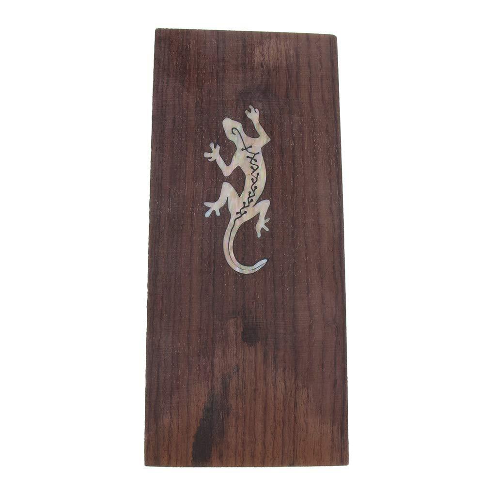 Gecko Baoblaze Guitar Head Veneer Shell Sheet Wood Headplate For Luthier Making as described
