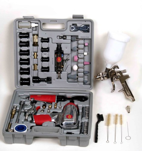 Tool Force BLKIT75 75 Piece Pnuematic Tool Kit