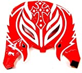 rey mysterio mask red - REY MYSTERIO (RED & WHITE HALF MASK) - WWE KID SIZED REPLICA WRESTLING MASK