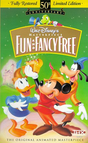 Fun and Fancy Free (Fully Restored 50th Anniversary Limited Edition) (Walt Disney's Masterpiece)  [VHS] (Berg Bookshelf)
