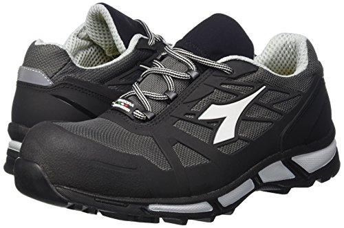 38 Black Antracite neck Samba Super low UK nero 5 Men Sneaker Diadora EU wYSqxBPw
