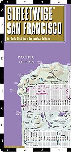 Streetwise San Francisco Map - Laminated City Center Street ...