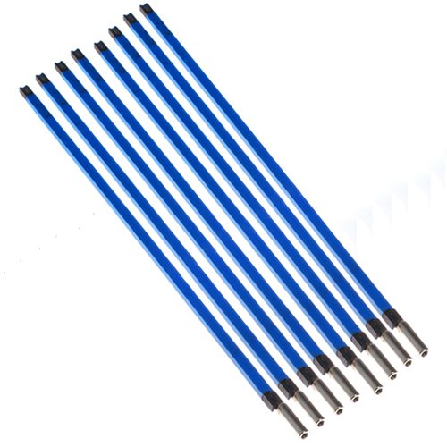 Electric Guitar Truss Rod Double Style Two Way Type A3 Steel For Guitars Parts And Hardware 4609 mm Blue (8 Pcs)