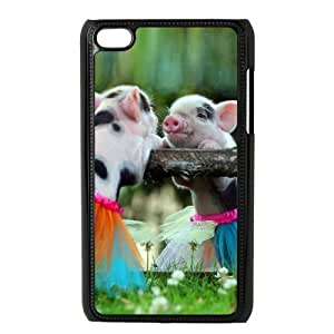 Cute Pig Phone Case For Ipod Touch 4 [Pattern-1]