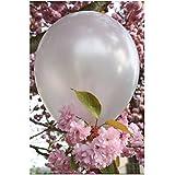 "Sachet de 20 ballons latex Balloon'Art© 12"" ou 30 cm Argent nacrés"
