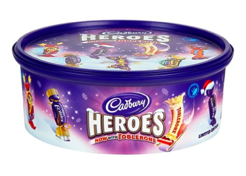 Cadbury Heroes Chocolates Tub 660g