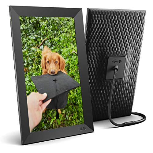 Nixplay Smart Digital Picture Frame 15.6 Inch - Share Moments Instantly via App or E-Mail