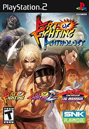 Amazon Com Art Of Fighting Anthology Playstation 2 Video Games