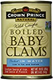 CROWN PRINCE Baby Clams, 10 OZ
