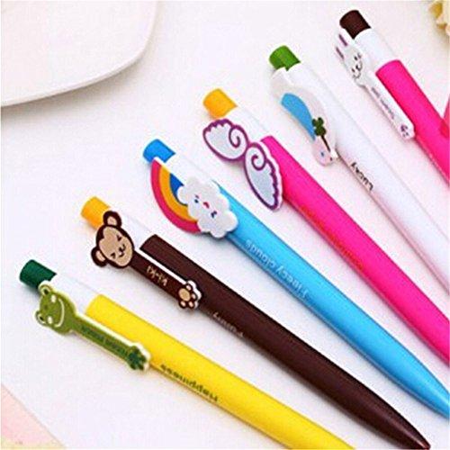 Six Monkey Balls - Katoot@ 6 pcs/lot rainbow monkey ballpoint pen kawaii stationery canetas escolar school & office supplies stationery