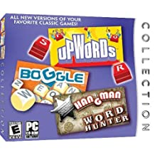 Boggle / Upwords / Hangman / Word Hunter Collection by ValuSoft
