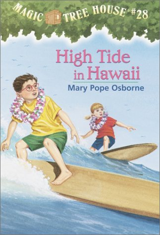 High Tide in Hawaii - Book #28 of the Magic Tree House