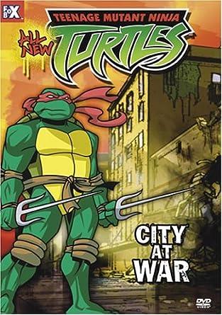 Teenage Mutant Ninja Turtles 14: City at War USA DVD: Amazon ...