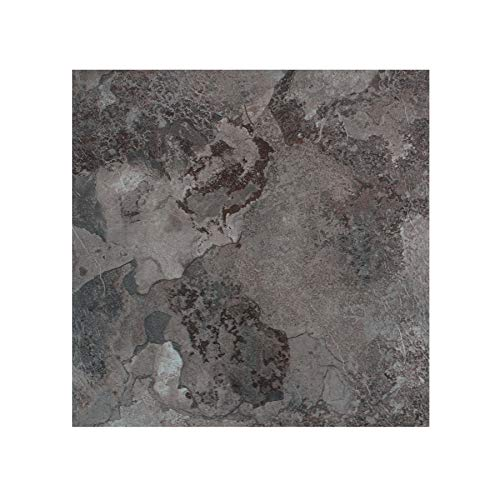 Ben & Jonah PrimeHome Collection Portfolio 12x12 2.0mm Self Adhesive Vinyl Floor Midnight Marble-9 Tiles/9 sq. ft