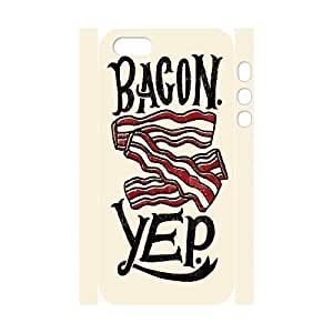 3D interesting Design] Bagcon Yep For Ipod Touch 5 Phone Case Cover Pattern For Teen Girls Protective {White}