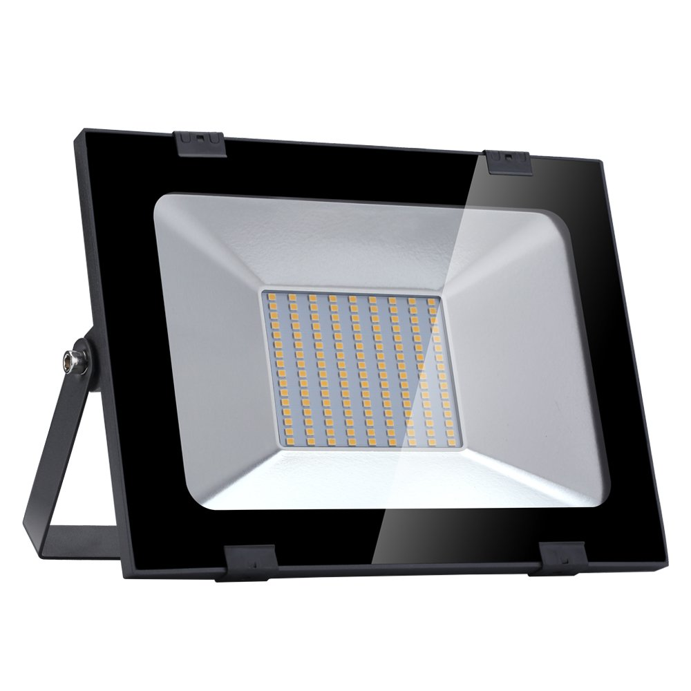 Garage XGZ LED Freien Super Flutlicht 100W LED Strahler Sportplatz oder Golfplatz Garten Helles Fluter Kaltwei/ß, 5X100W Wandleuchte Aussen f/ür Garten 6500K Wasserdichtes IP65