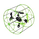 Sky Walker Matrix 1306 4-CH RC Quadcopter Climbing Wall Helicopter Running on the floor Climbing on the Wall-Green