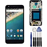 LCD Display Touch Screen Digitizer Assembly for LG Google Nexus 5X H791 H790 with Frame (Black)