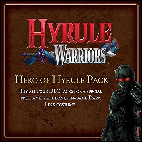 Amazon Com Hyrule Warriors The Hero Of Hyrule Pack Wii U Digital Code Video Games