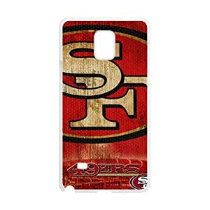 SF 49ERS Fahionable And Popular Back Case Cover For Samsung Galaxy Note4