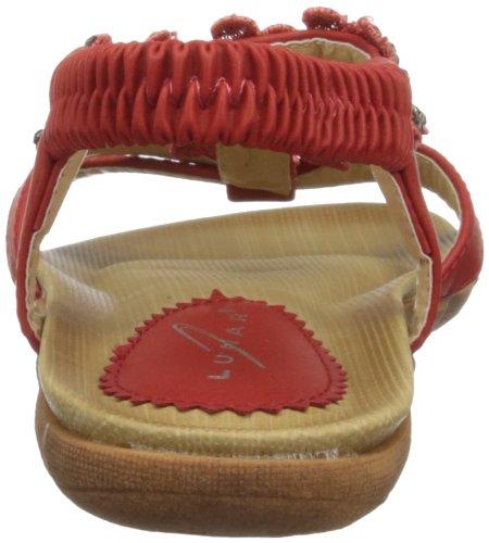 Griffith Park Jlh627 - Sandalias de vestir Mujer Red