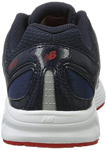 New Balance 460v1, Zapatillas de Running para Hombre, Gris Gris (Black/grey)