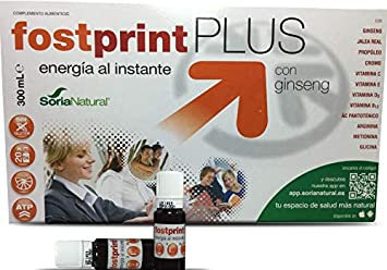 Fost Print Plus with Ginseng Instantly Energy Oral Liquid Food Supplement (20 Vial x 15ml