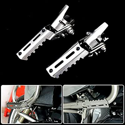 Motorcycle Engine Guard Highway Footpegs 25mm 1 Crash Bars Mount Fits For BMW R1200GS LC 2013-2017 Triumph Tiger Explorer