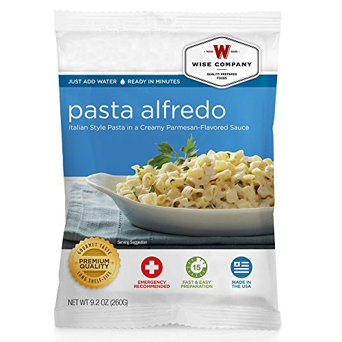 Wise Company Pasta Alfredo (4 Serving)