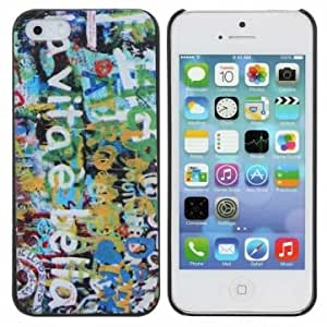 Relife Painting Grain Pattern PC Case Cover For iPhone 5 5S