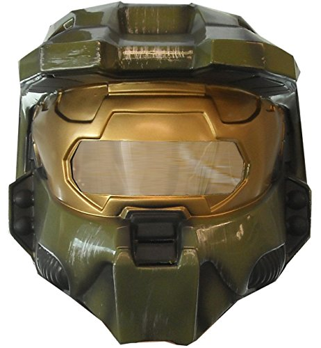 Halo 3 Master Chief Deluxe Two-Piece Mask -