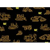 CATERPILLAR COTTON FABRIC-CATERPILLAR QUILTING FABRIC SOLD BY THE YARD-