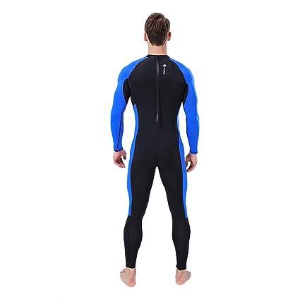 Lomsarsh HOMBRE WetSuit 3MM Body Suit Traje de buceo súper ...