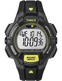 Timex Men's T5K790GP Ironman 30-Lap Rugged Grey and Black