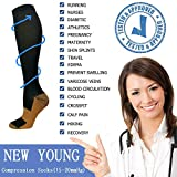 8 Pairs Medical Copper Compression Socks for
